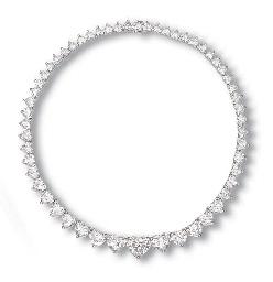 A DIAMOND NECKLACE, BY BULGARI