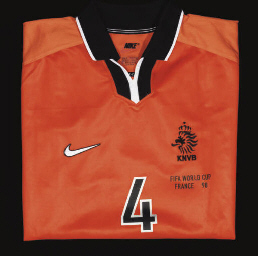 AN ORANGE HOLLAND SHORT-SLEEVE