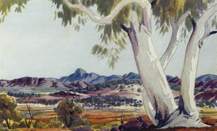 I have an Albert namatjira painting On the back it says Tribal