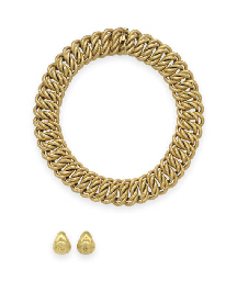 A GROUP OF GOLD JEWELRY, BY BU