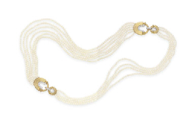 A MULTI-STRAND CULTURED PEARL