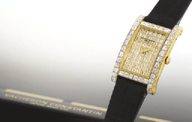 VACHERON CONSTANTIN A VERY RARE AND IMPORTANT 18K GOLD AND ...