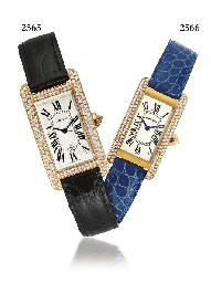 CARTIER. AN ELEGANT LADY'S 18K