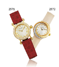 CARTIER. A FINE LADY'S THREE C