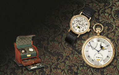 BREGUET. A VERY RARE SET OF 18