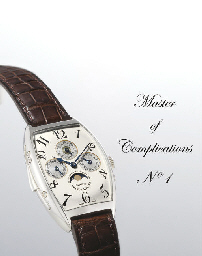 FRANCK MULLER. A VERY RARE AND