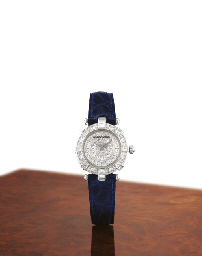 VACHERON CONSTANTIN A VERY RARE LADY'S 18K WHITE GOLD AND DI...