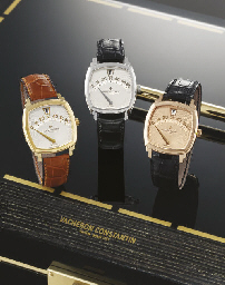 VACHERON CONSTANTIN A VERY RARE SET OF THREE LIMITED EDITION...