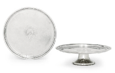 TWO WILLIAM III SILVER TAZZE