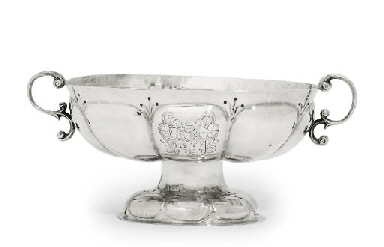 A DUTCH SILVER BRANDY-BOWL