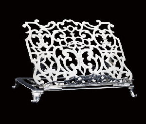A FRENCH PROVINCIAL SILVER BOO