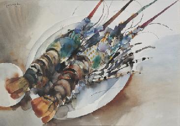 Still life - lobster
