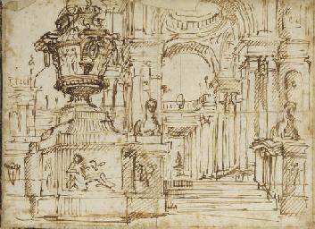 Intérieur d'une église avec de