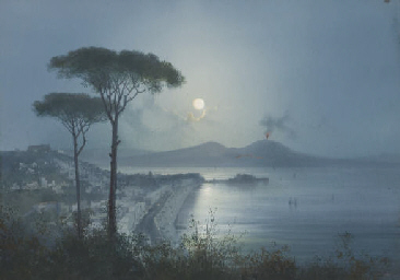 Vue de la baie de Naples au cl
