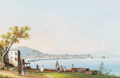 Vue de Naples, prise depuis la