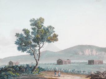 Vue des temples de Paestum