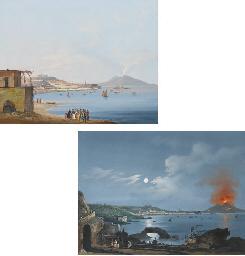 Vue de la baie de Naples de jo