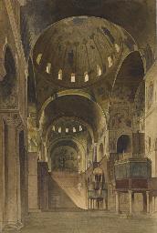 Vue du transept Nord de la bas