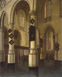 L'intérieur de la Houde Kerk à