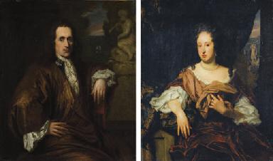 Portraits d'un homme et d'une
