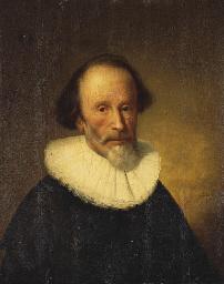 Portrait d'un homme barbu en b