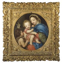 Vierge à l'Enfant avec Saint J