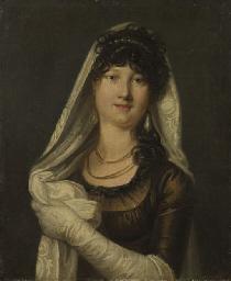 Portrait de Madame Mahiet de l