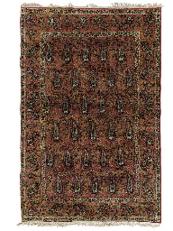 A PAIR OF KIRMAN RUGS