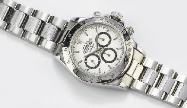 ROLEX OYSTER PERPETUAL SUPERLATIVE CHRONOMETER OFFICIALLY CERTIFIED DAYTONA COSMOGRAPH, 1990 CIRCA