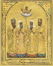 FOUR METROPOLITANS OF MOSCOW