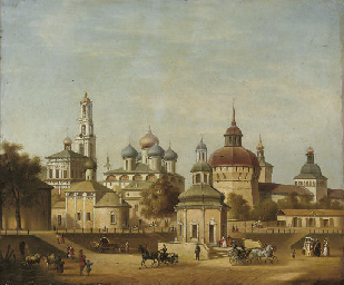 A view of Troitse-Sergieva Lav