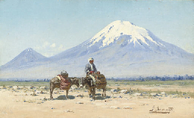 A rest before Mount Ararat