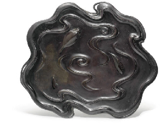 A Japanese Bronze Table Orname