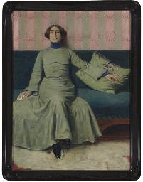 Portrait der Schwester des Kün