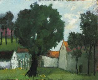 Boerderij in de Limburgse zome