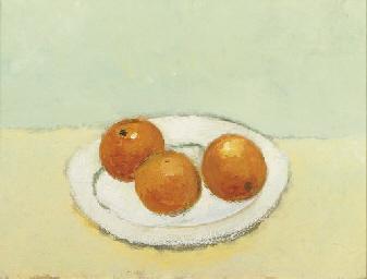 Sinaasappels op schaal
