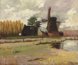 Molen in Friesland