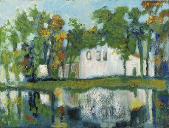 Huizen aan de ven