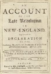 BYFIELD, Nathaniel (1653-1733)