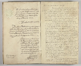 CLINTON, George. Manuscript an