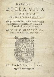 CORNARO, Luigi (1467-1566). Di