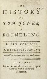 FIELDING, Henry (1707-1754). T