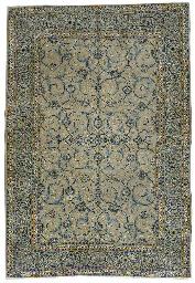A fine Afshari Kashan carpet,