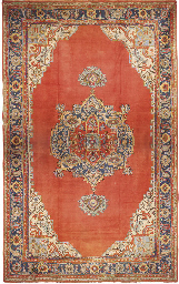 A Ushak carpet, Turkey