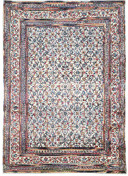 An antique Khorassan carpet, N