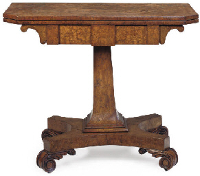 A GEORGE IV BROWN OAK GAMES TA