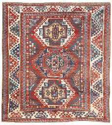 An antique Kazak rug, South Ca