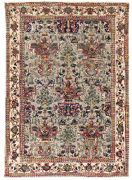 A similar Tabriz carpet, North