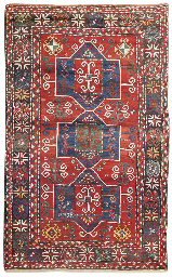 An antique Fachralo Kazak rug,