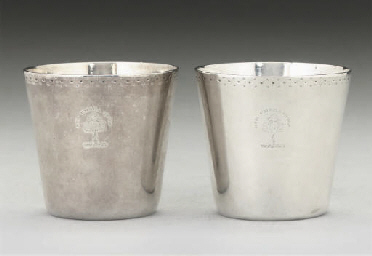 A PAIR OF GEORGE III SCOTTISH